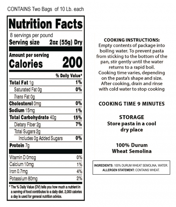 BULK-PASTA-NUTRITION-FACTS