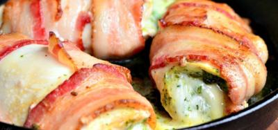 BaconPestochickenwrap