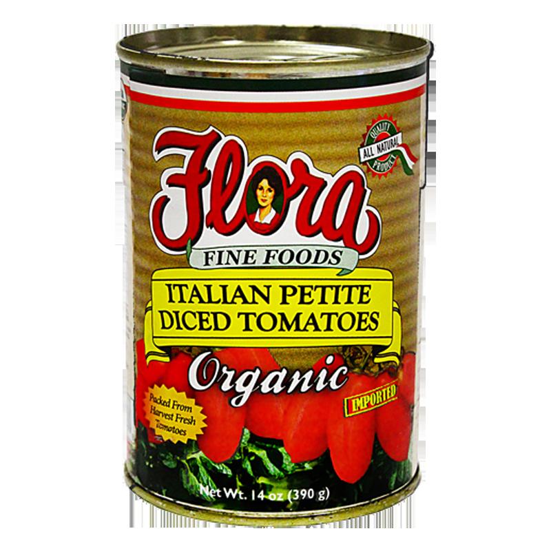 Italian Petite Diced Organic Tomatoes