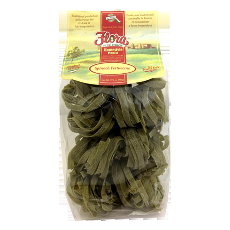 Spinach Fettucine Homestyle Pasta
