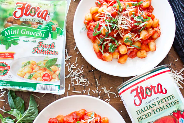 Easy Tomato And Basil Gnocchi