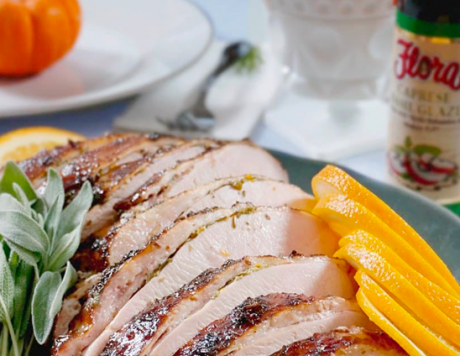Roast Turkey Breast Balsamic Glaze