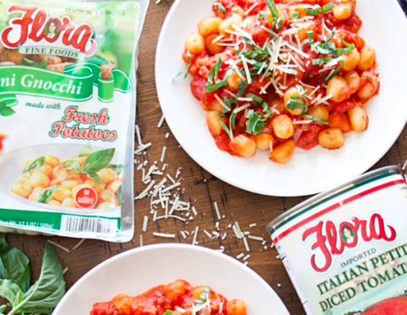 Easy Tomato And Basil Gnocchi