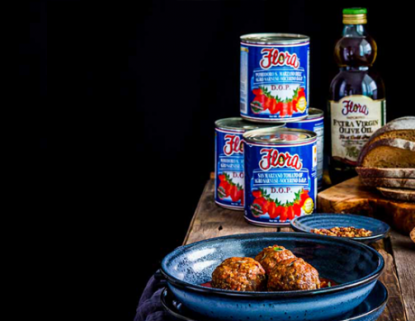 Jumbo Brisket Meatballs in San Marzano D.O.P. Tomato Sauce