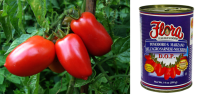 San Marzano Tomatoes DOP
