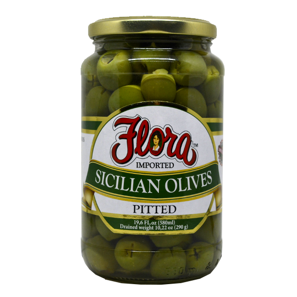 La Siciliana Olives Pitted